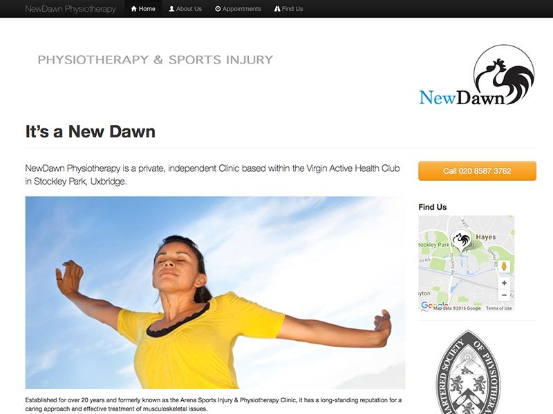 NewDawn Website