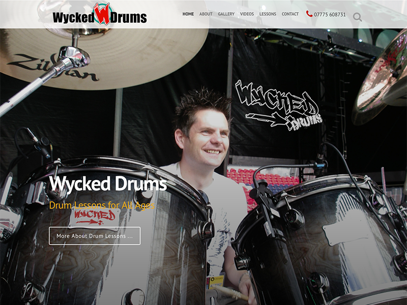 Wycked Drums Home Page